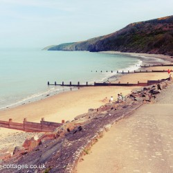 Cei Bach Beach, Cardigan Bay