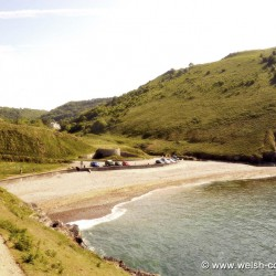 Cwmtydu Beach Cardigan Bay