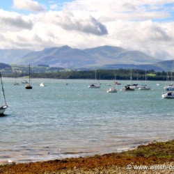 Boats at Beaumaris Harbour
