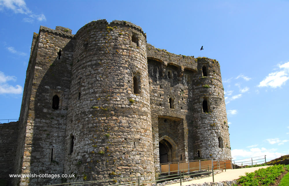 Kidwell Castle in Carmarthenshire